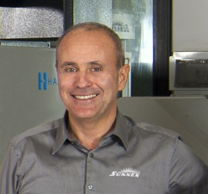 Adriano Salvi, direttore vendite di Sunnen Italia.