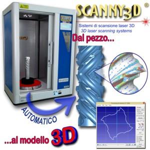 scanner laser 3d scanny3d