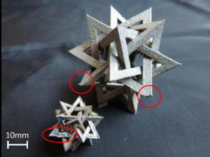 difetti geometria complessa con additive manufacturing
