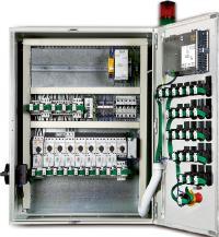 Figura 2: il sistema SmartWire-DT permette di semplificare il cablaggio e di risparmiare spazio nel quadro elettrico.